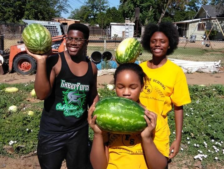 Floyd and kids watermelon - Edited